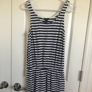 Gap cinched waist tank dress